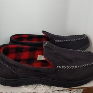 Levi Strauss Mens Faux Suede Slippers